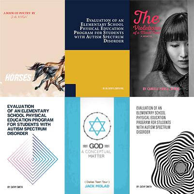 Minimalistic Cover Designs