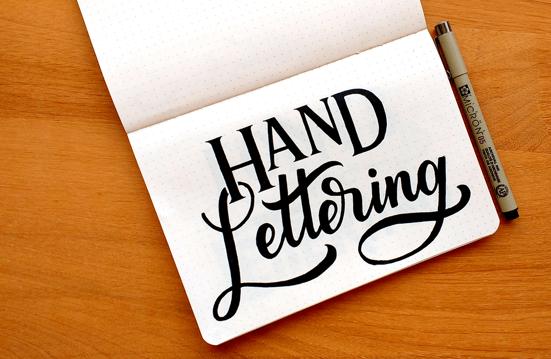 Use of Hand-Drawn Letters