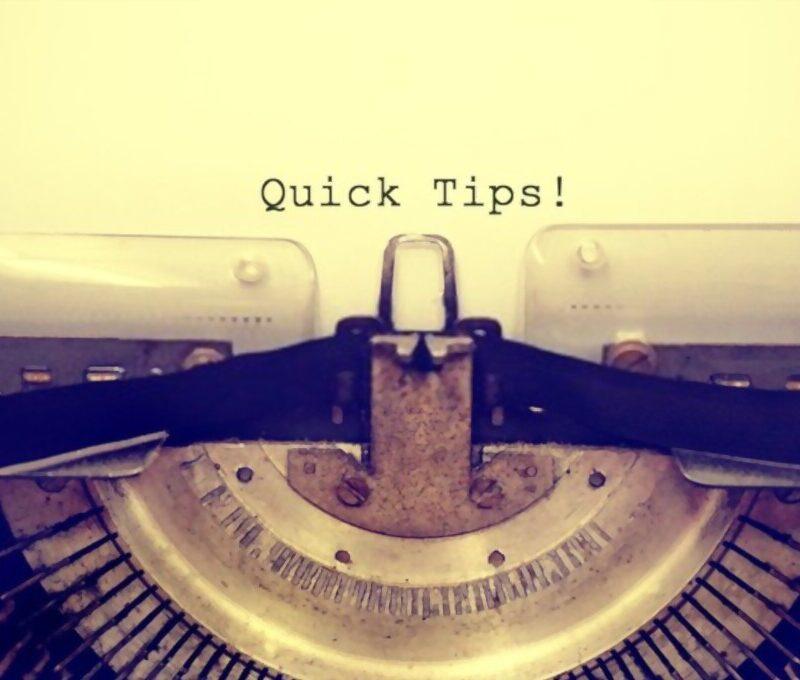 book writign tips